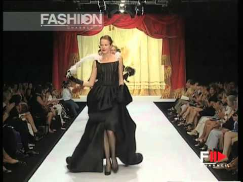 """Furstenberg Couture"" Autumn Winter 1997 1998 Rome 9 of 9 Haute Couture woman by FashionChannel"