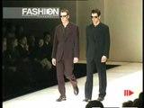 """""""Giorgio Armani"""" Autumn Winter 1997 1998 Milan 2 of 3 pret a porter men by FashionChannel"""