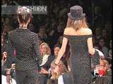 """""""Chiara Boni"""" Spring Summer 1997 Milan 5 of 8 pret a porter woman by FashionChannel"""
