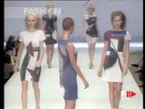 """""""Les Copains"""" Spring Summer 1997 Milan 4 of 8 pret a porter woman by FashionChannel"""
