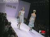 """""""Anna Sui"""" Spring Summer 1997 New York 2 of 3 pret a porter woman by FashionChannel"""