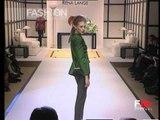"""""""Rena Lange"""" Autumn Winter 1996 1997 Milan 4 of 5 pret a porter woman by FashionChannel"""