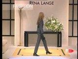 """""""Rena Lange"""" Autumn Winter 1996 1997 Milan 3 of 5 pret a porter woman by FashionChannel"""