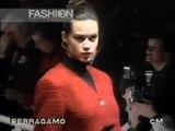 """Salvatore Ferragamo"" Autumn Winter 1989 1990 Milan pret a porter women by Canale Moda"