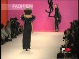 """Yves Saint Laurent"" Spring Summer 1996 Paris 6 of 6 pret a porter woman by FashionChannel"