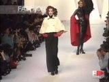 """""""Claude Montana"""" Autumn Winter 1992 1993 Paris 1 of 3 Pret a Porter Woman by FashionChannel"""
