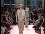 """Burberry"" Spring Summer 2001 Milan 1 of 4 Menswear by FashionChannel"