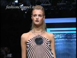 """""""Paco Rabanne"""" Spring Summer 2001 Paris 2 of 3 pret a porter woman by FashionChannel"""