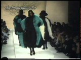 """Karl Lagerfeld"" Autumn Winter 1988 1989 Paris 1 of 2 pret a porter woman by FashionChannel"