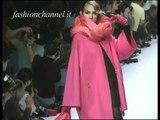 """""""Claude Montana"""" Autumn Winter 1991 1992 Paris 2 of 3 Pret a Porter Woman by FashionChannel"""