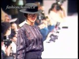 """Rocco Barocco"" Autumn Winter 1991 1992 Milan 1 of 3 pret a porter woman by FashionChannel"