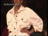"""Yves Saint Laurent"" Spring Summer 1991 Paris 1 of 4 pret a porter woman by FashionChannel"