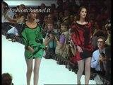 """Genny"" Spring Summer 1991 Milan 2 of 3 pret a porter woman by FashionChannel"