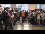 """Trussardi"" Spring Summer 2012 Milan HD 1 of 2 pret a porter men by FashionChannel"