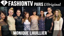 Monique Lhuillier Spring/Summer 2015 Front Row | New York Fashion Week NYFW | FashionTV