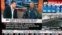 Boxe : Quand Mike Tyson insulte un animateur TV