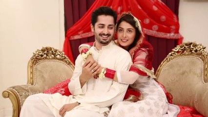 Ayeza Khan and Danish Taimoor Nikah Shadi Video