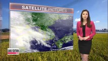 Sunny yet cooler Friday expected nationwide