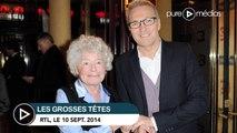 """""""Les Grosses Têtes"""" : Claude Sarraute prend Vincent Perez pour Vincent Cassel"""