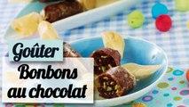 Les bonbons croustillants au chocolat - Recette Goûter