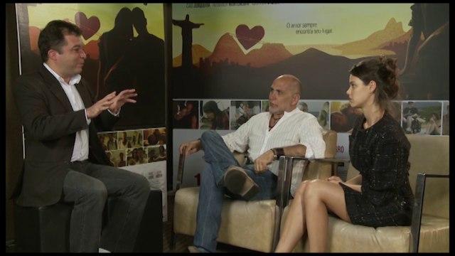 ENTREVISTA: Laura Neiva e Guillermo Arriaga