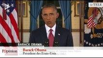 TextO' : Obama veut une coalition contre l'Etat islamique