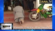 SANS COMMENTAIRES. KIKONGO. Handicapés du Congo: le parcours du combattant