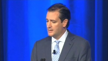 Raw Video Ted Cruz Boed off stage