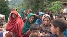 Les habitants du Cachemire pakistanais victimes des inondations