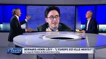 Bernard-Henri LEVY tacle l'absence de l'Europe face aux barbares qui décapitent