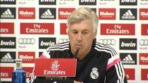 Ancelotti, sobre Casillas, James y Chicharito