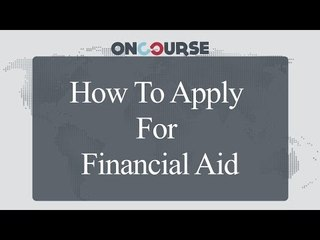Study In USA || Applying For Financial Aid || On Course