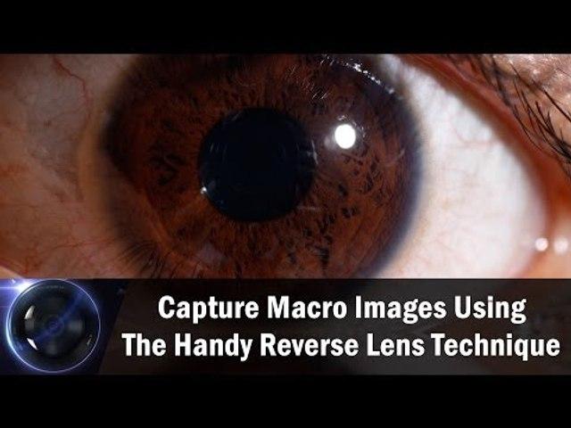 Capture Macro Images Using The Handy Reverse Lens Technique    Shraddha Kadakia