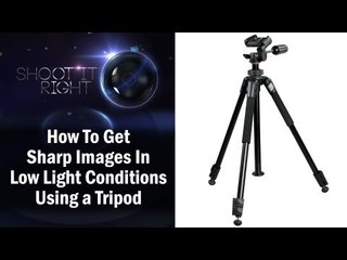 How To Get Sharp Images In Low Light Conditions Using a Tripod || Shraddha Kadakia