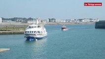 Belle-Ile-en-Mer (56). Marin disparu : l'arrivée du bateau à Quiberon