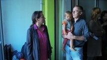 Ségolène ROYAL visite un immeuble de logement social à énergie positive de la Régie Immobilère de la Ville de Paris (RIVP)