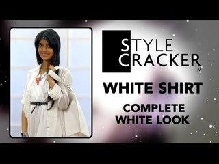 All White Look II White Shirt II StyleCracker