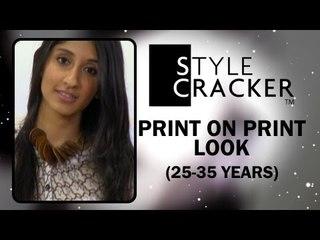 25-35 years II The Print on Print Look II StyleCracker