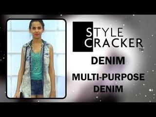 The Multipurpose Denim Look II Denim Trends II StyleCracker