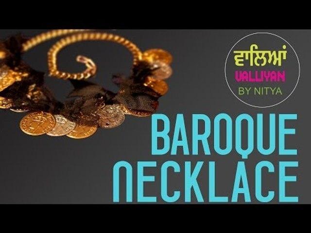 Make Your Own Accessories || Baroque Necklace || Nitya Arora || DIY