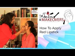 Christmas Special || How To Apply Red Lipstick || The Cloakroom