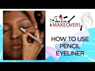Quick Eye Make-up II How To Use Pencil Eyeliner II The Cloakroom