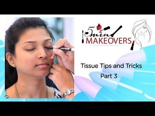 Tissue Tips & Tricks Part 3 || Learn How To Make A Wing On Your Eye || The Cloakroom