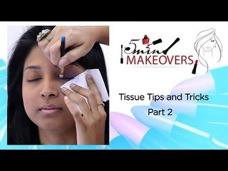 Tissue Tips & Tricks Part 2  || Learn How To Make A Dual Coloured Eye Wing || The Cloakroom