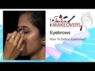 Learn How To Define Your Eyebrows || The Cloakroom