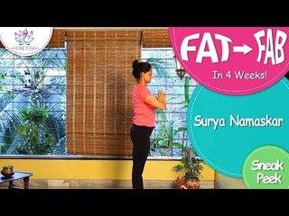 Secrets Of Surya Namaskar || Snippets || Fat To Fab-Weight Loss Series