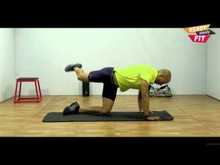 How To Strengthen Butt Muscles & Reduce Love Handles || Kicks and Lunges 2