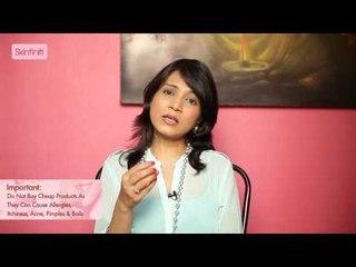 Dr. Jaishree Sharad || Facts About Makeup || Skinfiniti