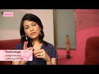 Dr. Jaishree Sharad || Nail Art || Skinfiniti