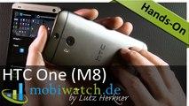 HTC One (M8) im ausführlichen Test - Hands-On-Video (deutsch)